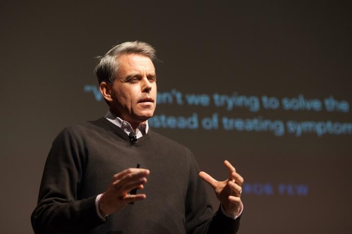 Mike Brennan presentation photo